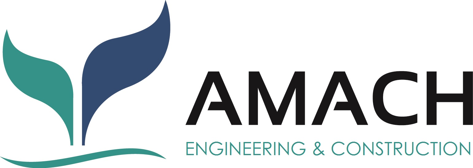 Logo adherent AMACH ENGINEERING & CONSTRUCTION